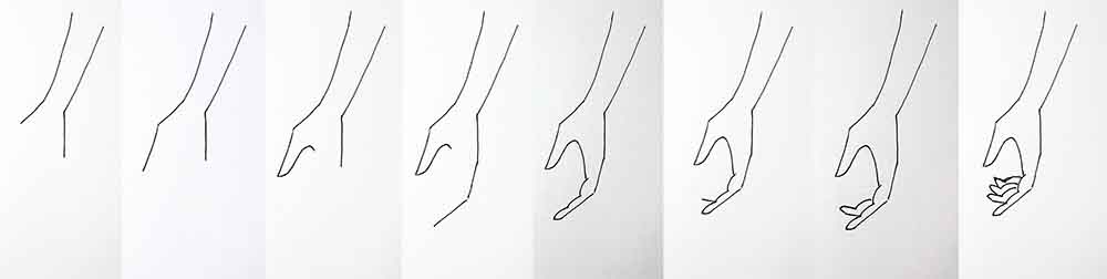 Draw hands - fashion design tutorial for beginners