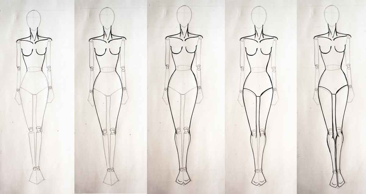 How To Draw Fashion Figures Muscles Drawing Muscles