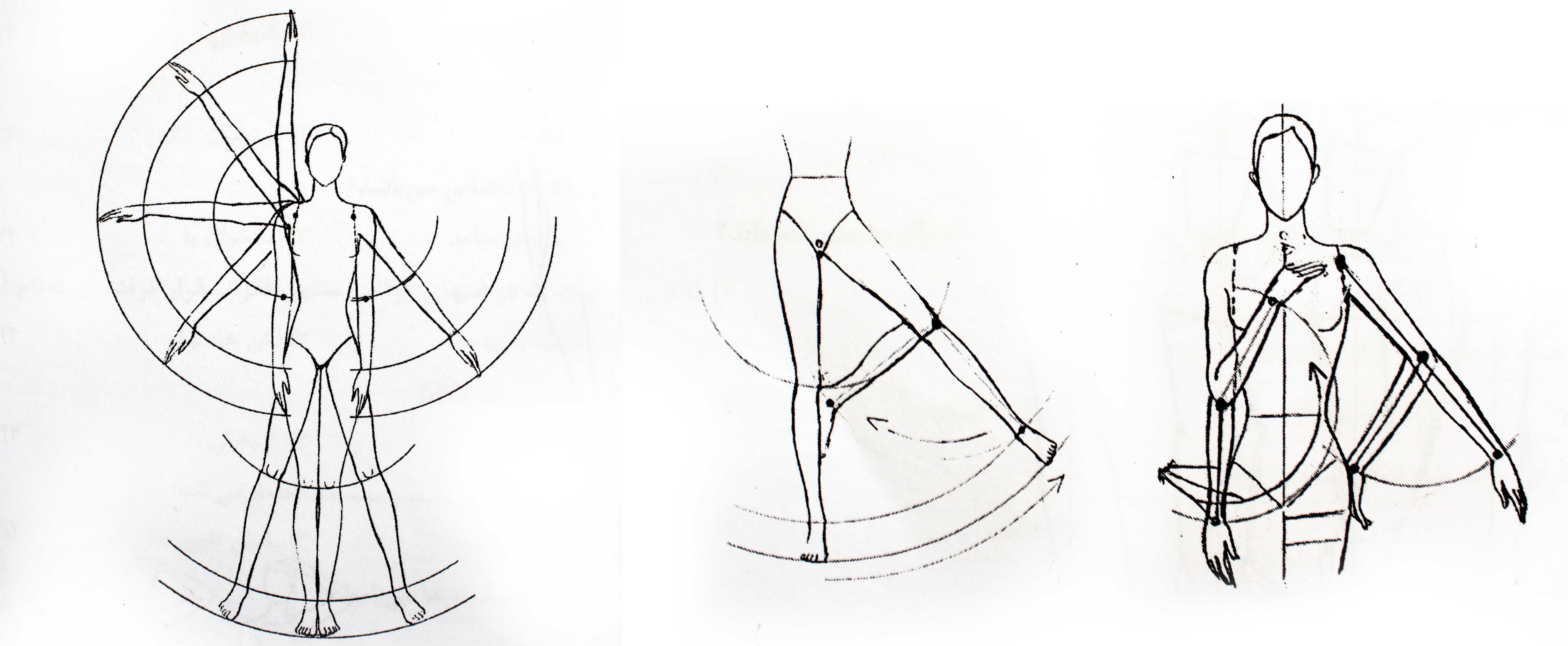 Drawing different pose in fashion figure's legs- Online fashion design tutorial