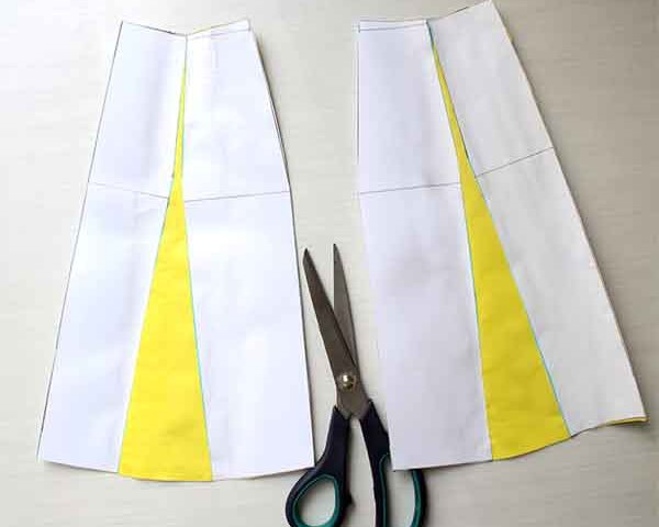 A-line flare skirt Pattern design tutorial