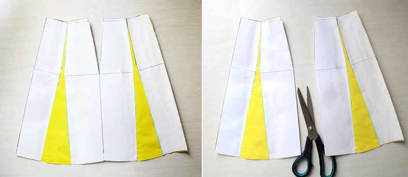 Drafting A-line skirt - Pattern making Tutorial