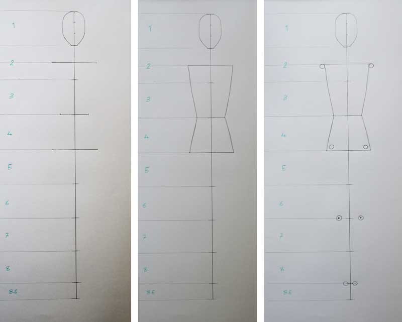 how to draw fashion figure