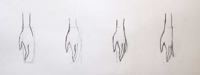 How to draw hands, fast and pro