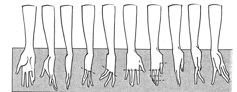 hand pose for drawing